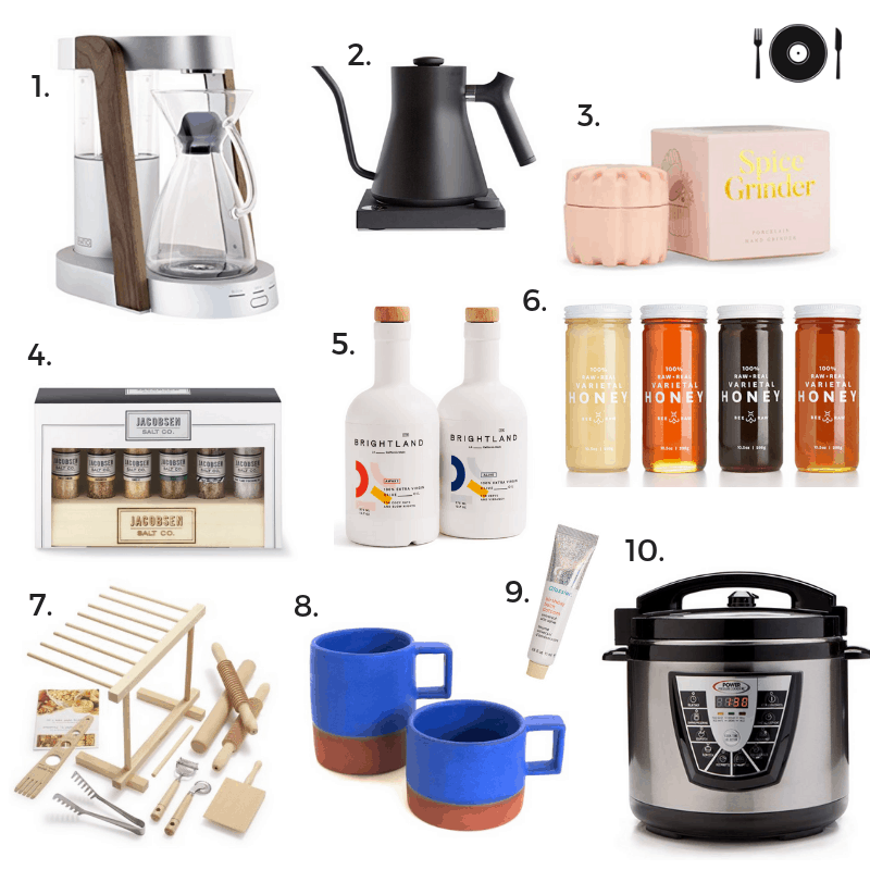 Gift Guide: Kitchen Gifts for Him and Her
