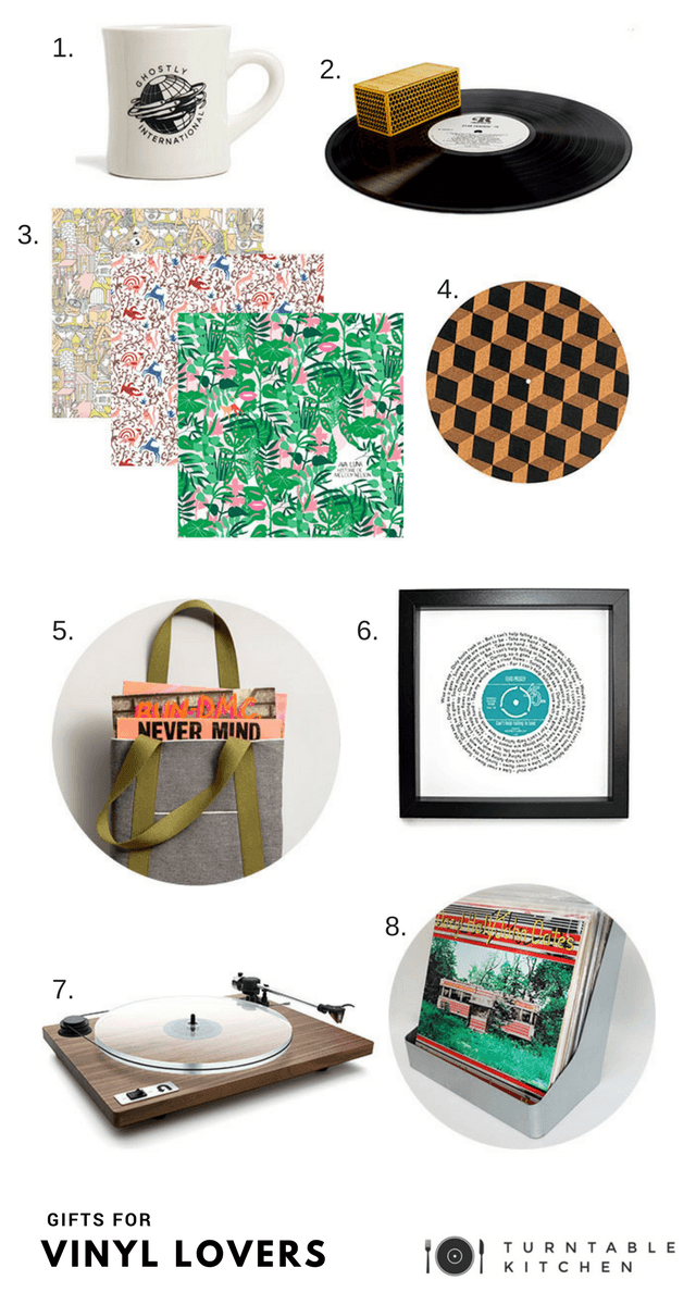 8 perfect gifts for vinyl lovers turntable kitchen Gifts for kitchen lovers