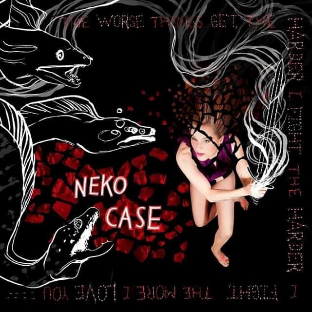 Neko Case - the worse things get album cover