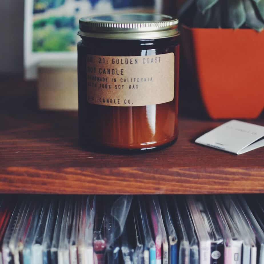 Candle Vinyl Pairing Turntable Kitchen