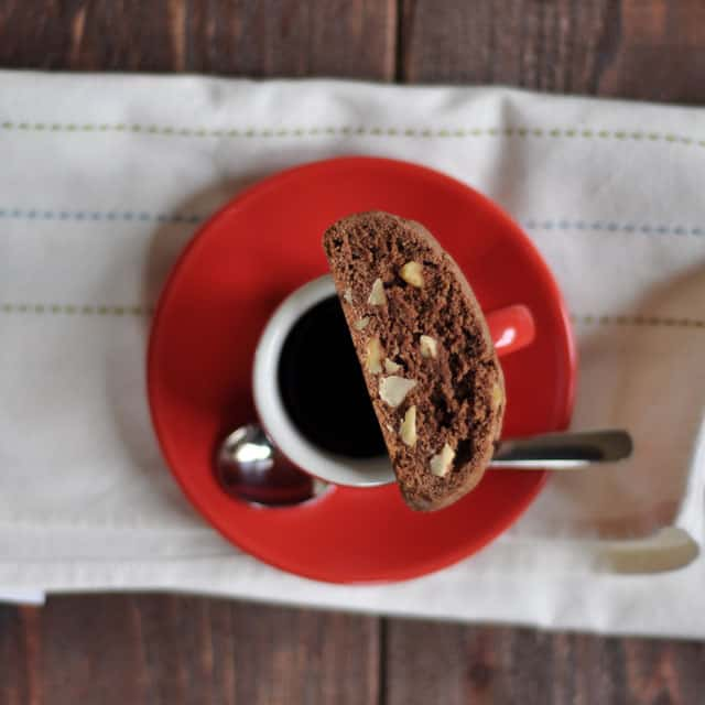 Chocolate Hazelnut Biscotti 2 Chocolate Hazelnut Biscotti: These Meanderings