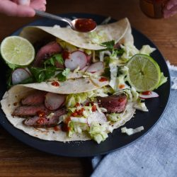 Turntable Kitchen shares an easy recipe for Coffee-Rubbed Steak Tacos