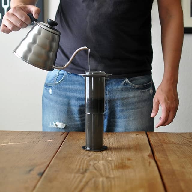 How To Make Coffee: The Perfect Aeropress Technique