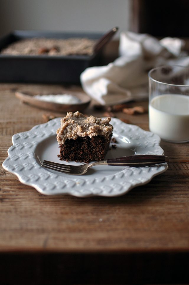 Incredible Vegan German Chocolate Cake