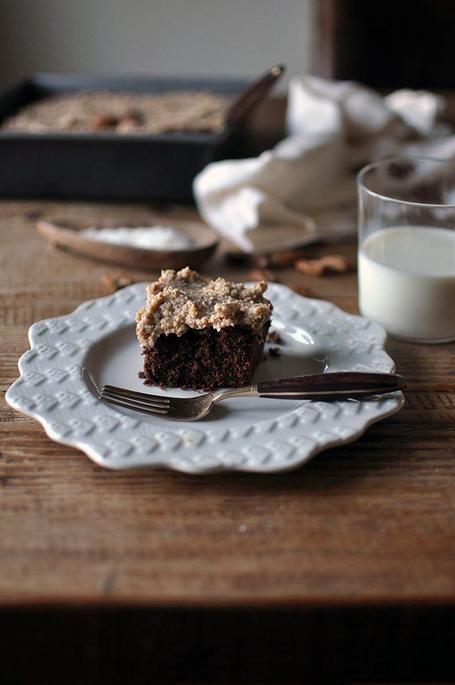 Incredible Vegan German Chocolate Cake