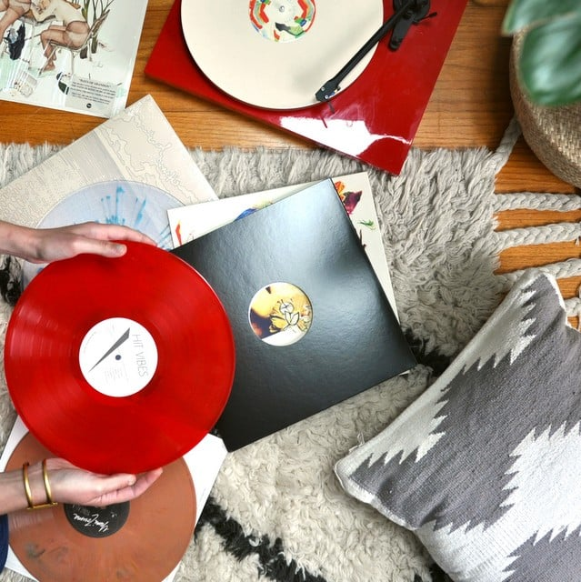 SOUNDS DELICIOUS monthly vinyl subscription service