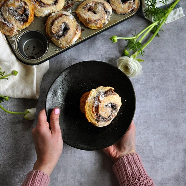 Yeast-Free Cinnamon Buns