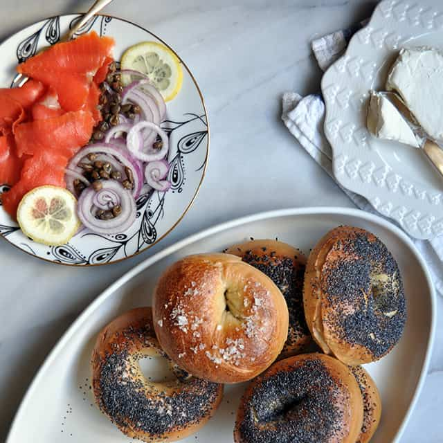 How to Host a (Homemade) Bagel Brunch