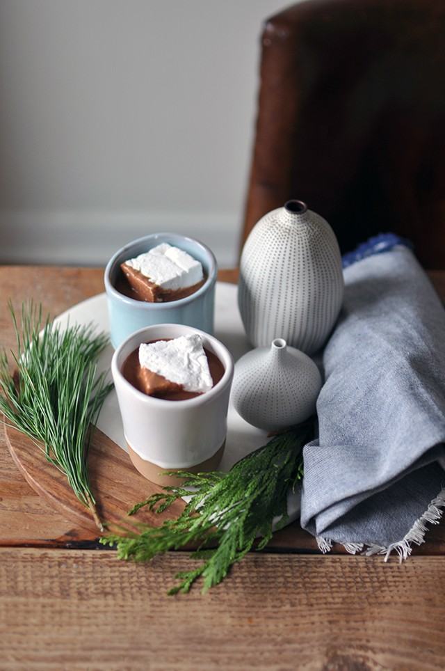 Hawaij Hot Chocolate recipe with giant marshmallows