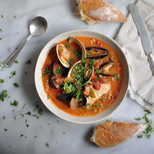 Brazilian Style Fish Stew - Turntable Kitchen