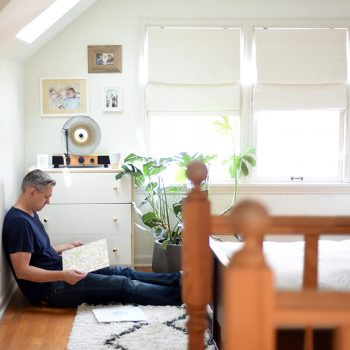 How to Create a Serene Listening Space (+ $200 giveaway)