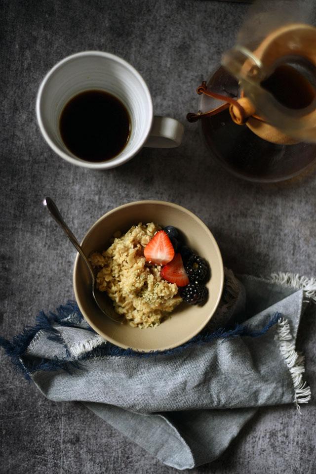 6 Minute Pressure Cooker Oatmeal