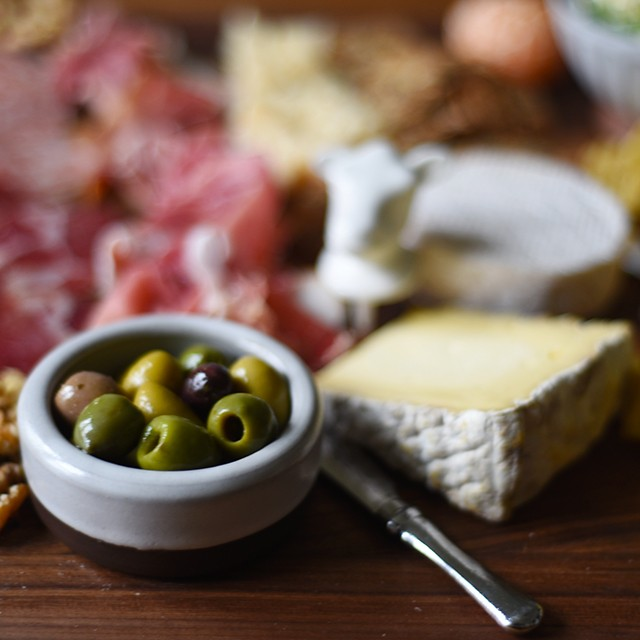 The High-Low Cheese and Charcuterie Board