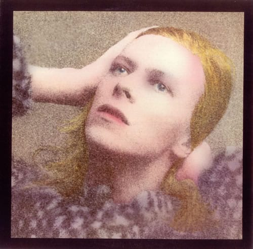 David Bowie Hunky Dory 28 is the New Black: Happy Birthday Balsamic Strawberry Shortcakes