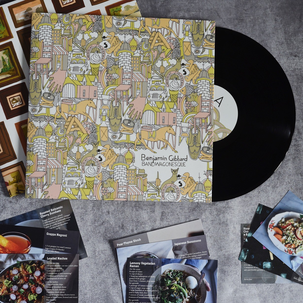 Limited Edition Summer Gift Bundle: Exclusive Records + Recipes