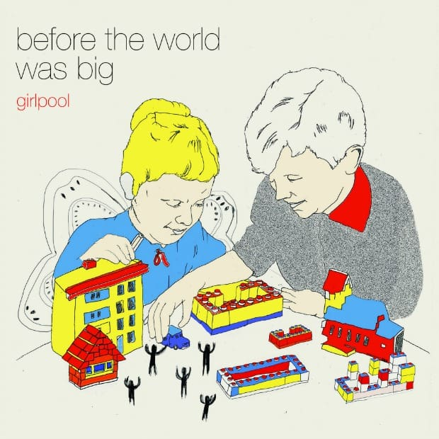 Girlpool - BTWWB - Album Art