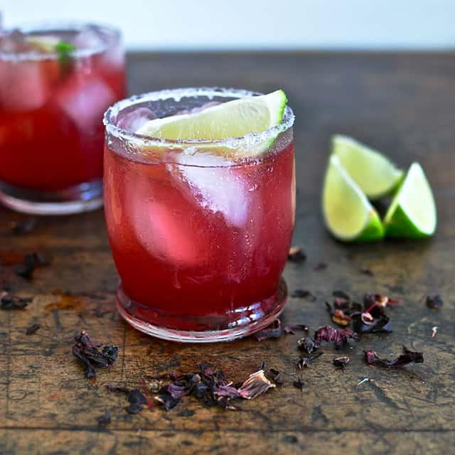 Hibiscus Margarita - Turntable Kitchen