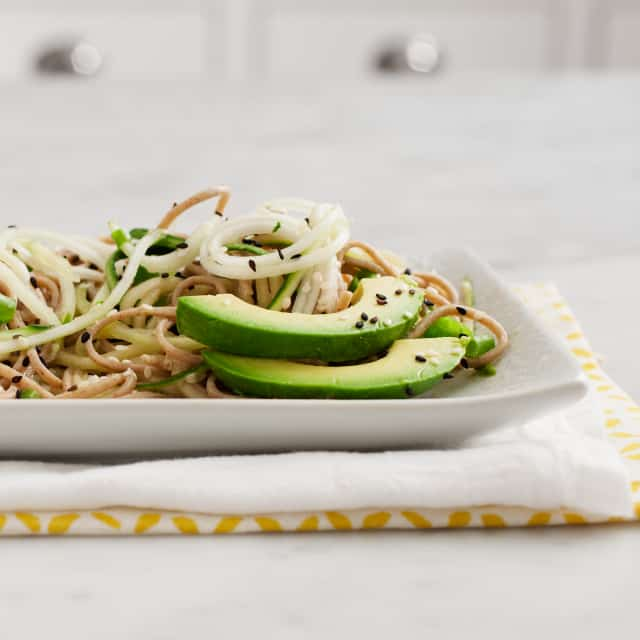 Cold Cucumber Soba Noodles by Jeanine from Love & Lemons