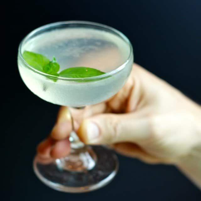 Home Bar: Green Chile Gimlet