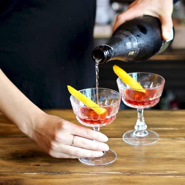 Home Bar: Seelbach Cocktail