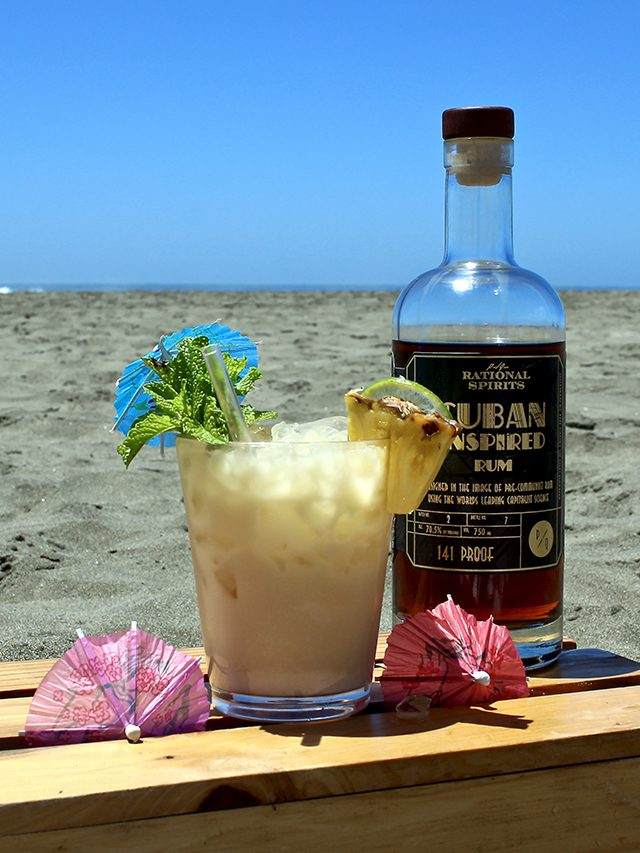 Home Bar: Piña Colada