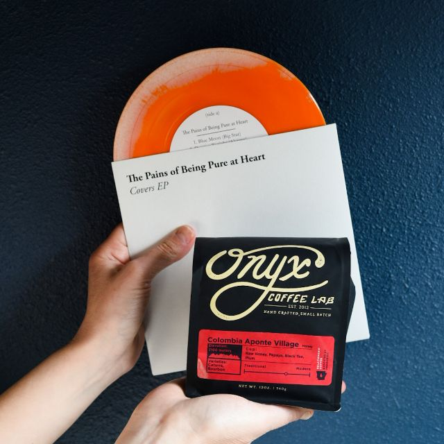 Coffee Vinyl Pairings Coffee of the MOnth subscription service