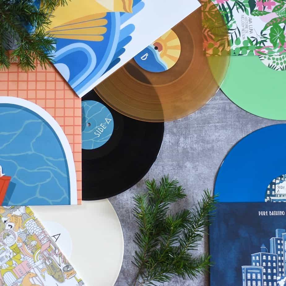 SOUNDS DELICIOUS 12 LP Gift Bundle vinyl records limited edition