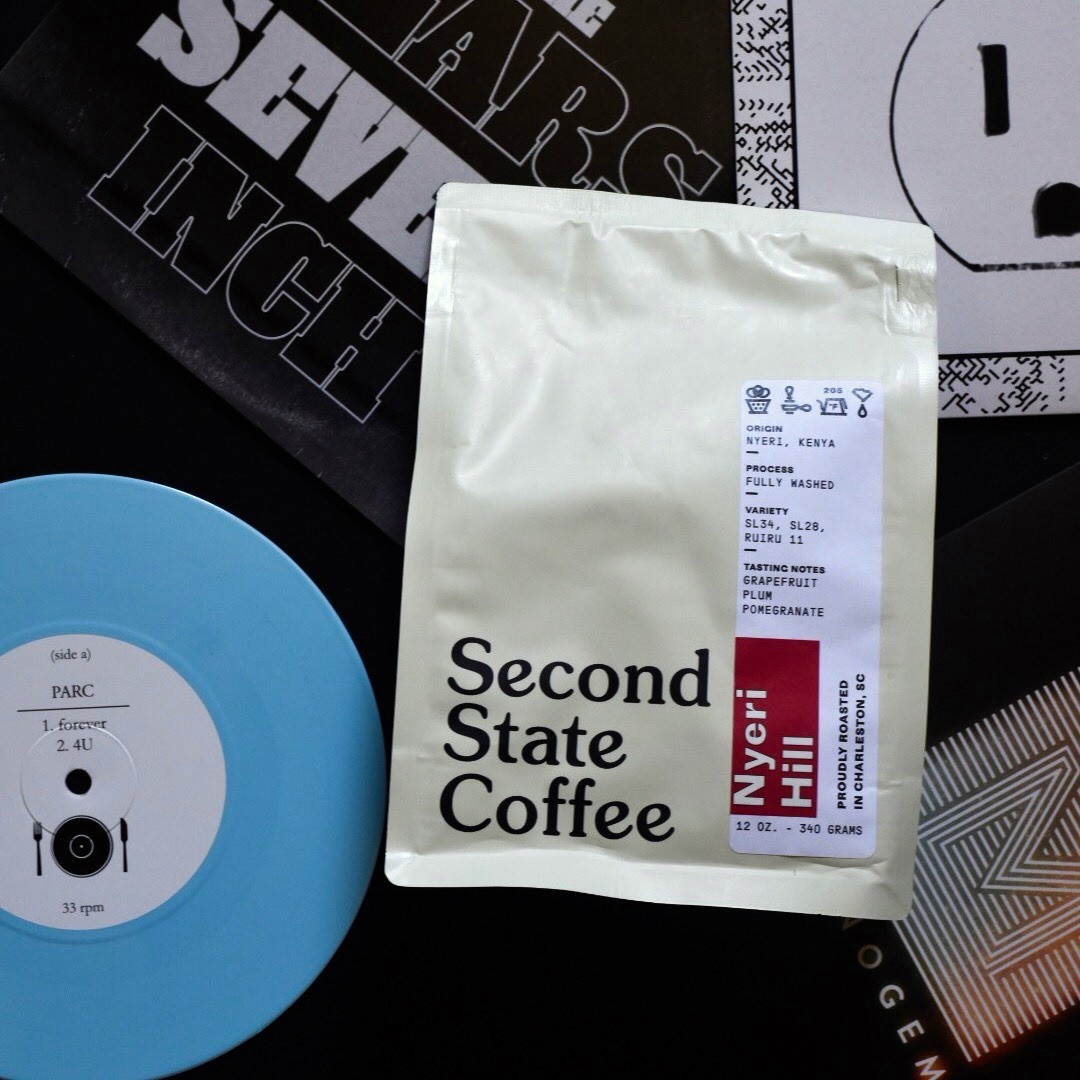 Coffee & Vinyl Pairings: Second State's Kenyan Nyeri Hill