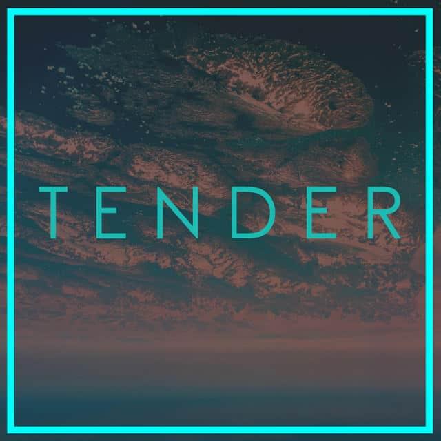 TENDER - TENDER vinyl EP front cover