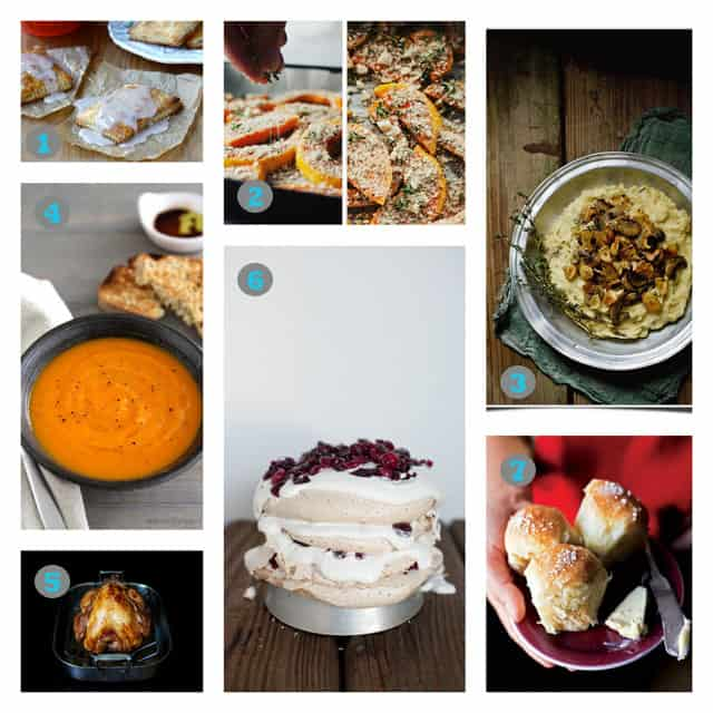 Thanksgiving Collage Thanksgiving Recipe Idea Roundup + TK Turns One!
