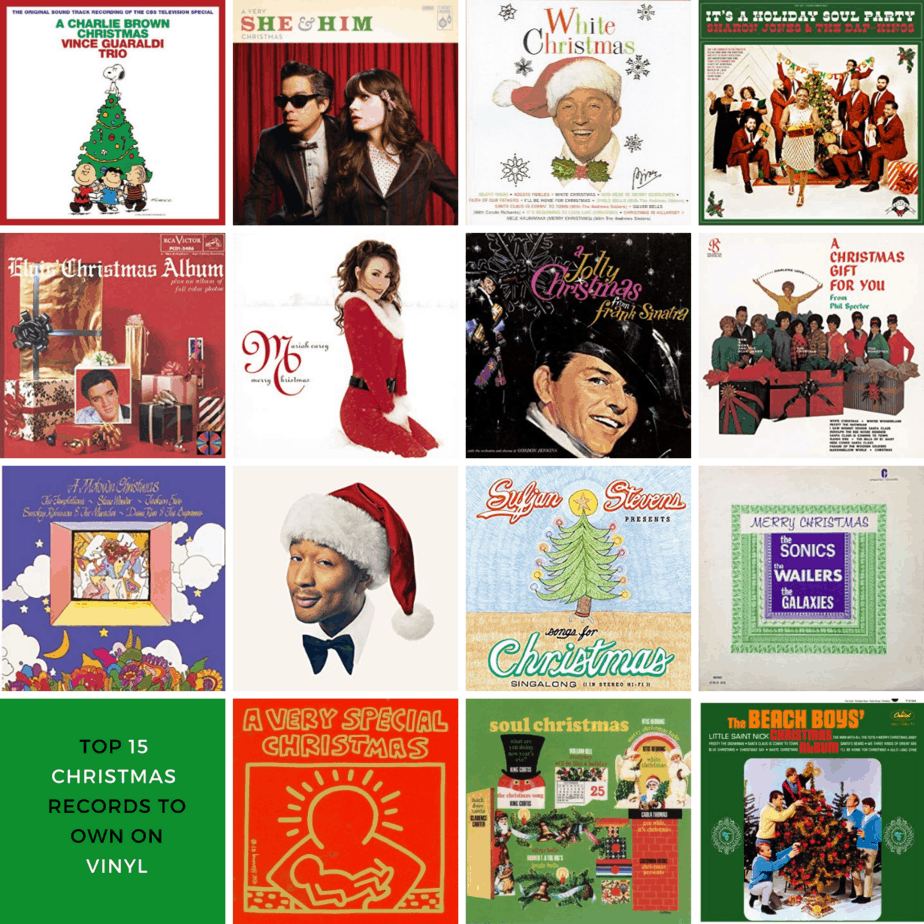 The 15 Best Christmas Records To Own On Vinyl Turntable