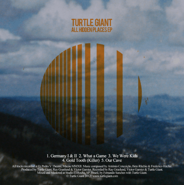 Turtle Giant All Hidden Places EP cover 637x640 Musical Pairings: Turtle Giant   All Hidden Places EP