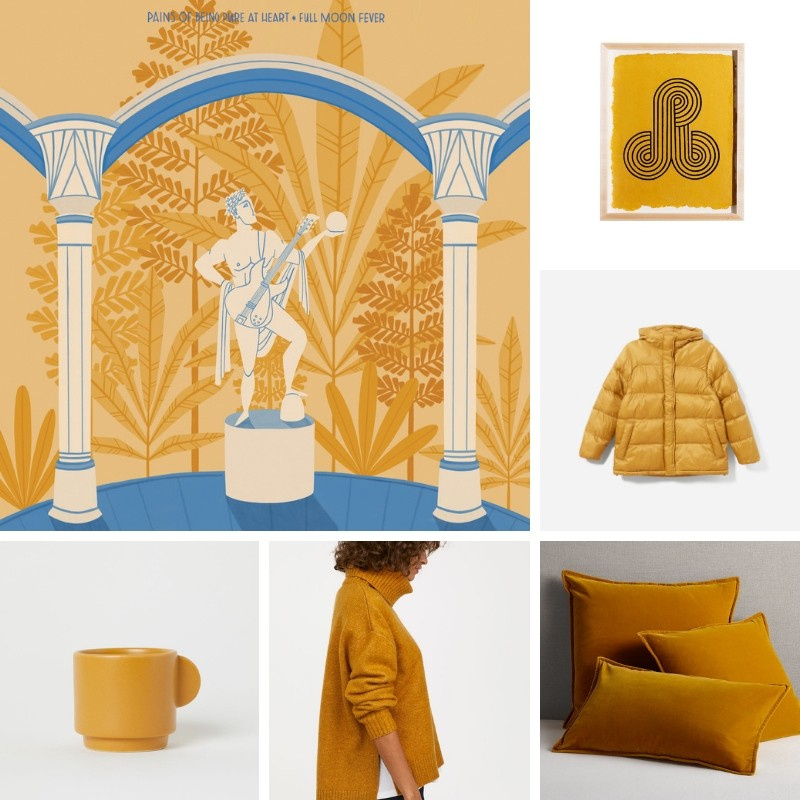 October Color Inspiration: Mustard Yellow