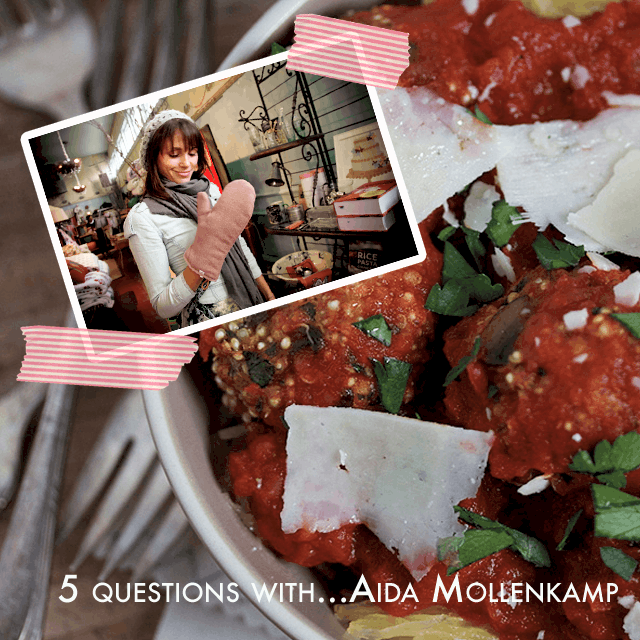 aida 5 Questions With...Aida Mollenkamp