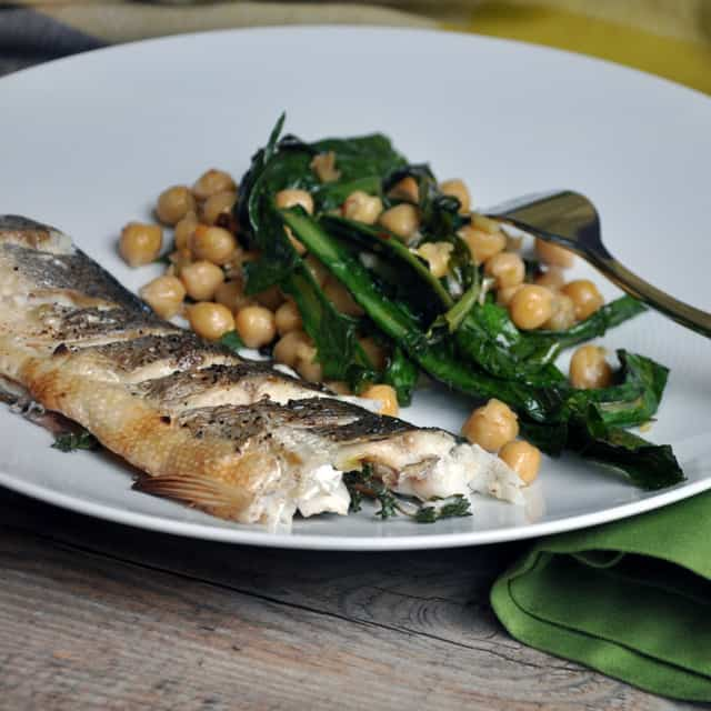 Whole Roasted Branzino Recipe