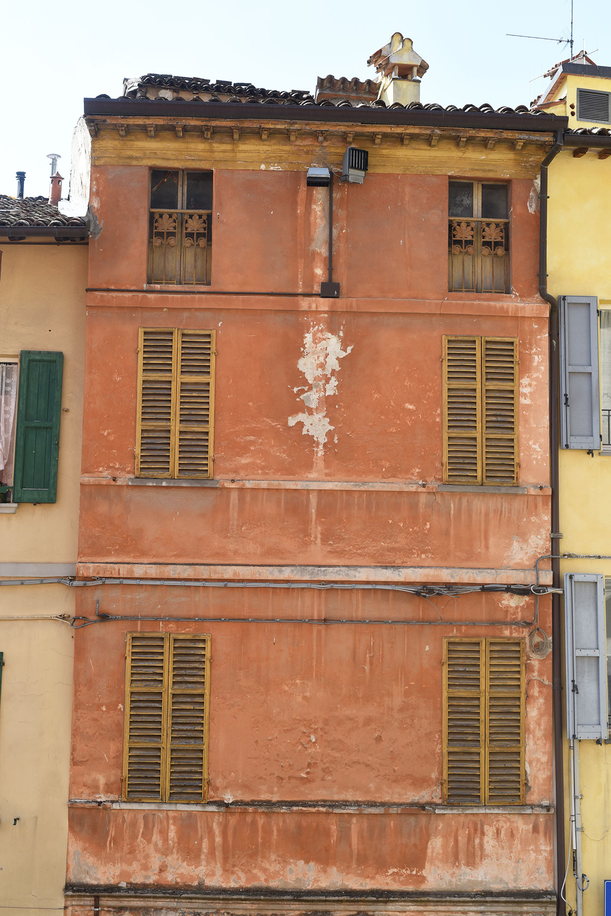 The colorful houses of Brisighella, Emilia Romagna