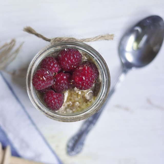 Raw, Chilled Buckwheat Porridge