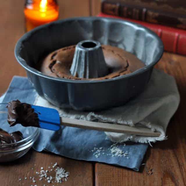: Spiced Whole Grain Chocolate Cake with Salted Chocolate Frosting ...