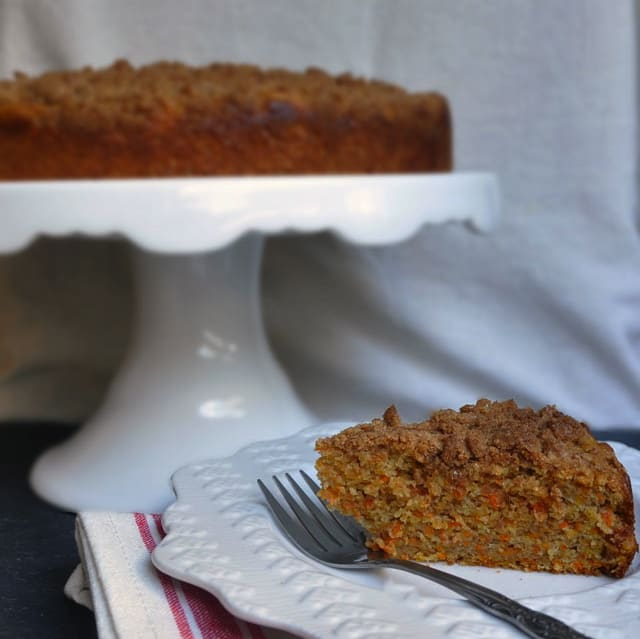 carrot cake slice That was Awkward, But Lets Talk About Carrot Coffee Cake