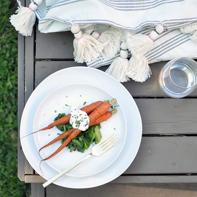 Roasted Carrots + A Playlist for West Elm