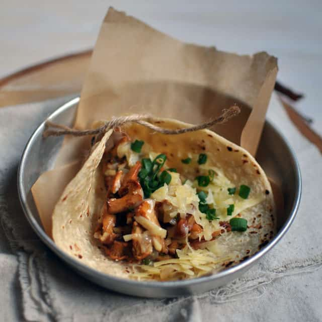 Chanterelle Tacos, City Bus Recipes — Dishmaps