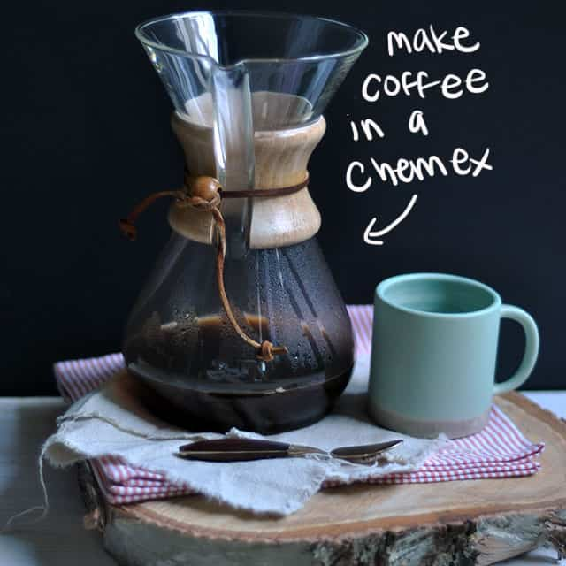 How To Make Coffee: Using a Chemex