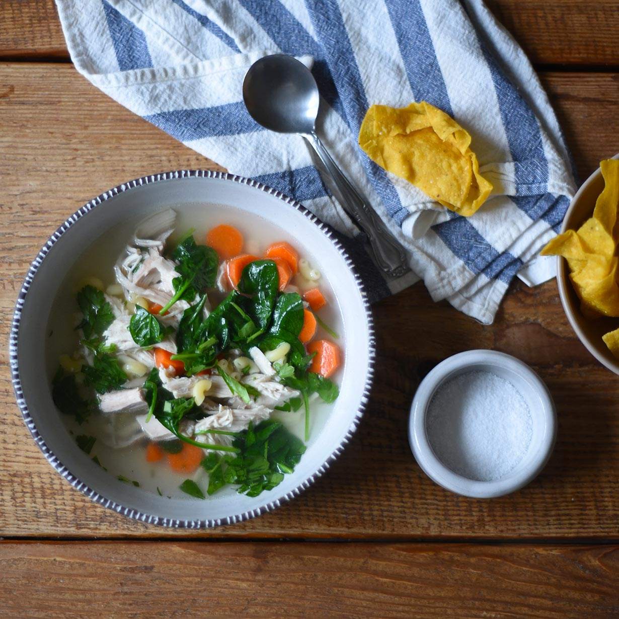 "Turntable Kitchen shares a ""master"" recipe for really good chicken noodle soup"