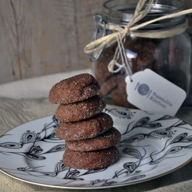 chocolate gingersnaps lead Holiday Chocolate Gingersnaps from Mourad: New Moroccan