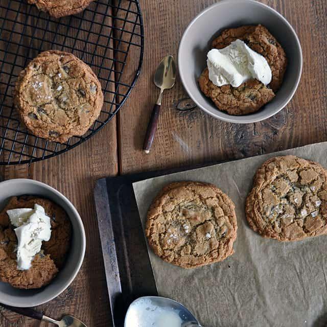 Buckwheat and Sea Salt Cookie Sundae