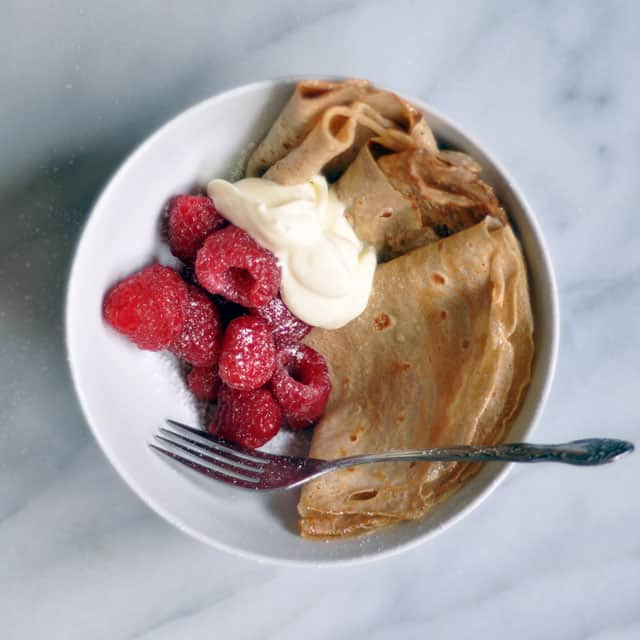 Introducing the Casual Fall Breakfast: Crepes in a Bowl