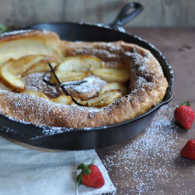 dutch baby dutch baby with orange sugar pear and smoked gouda dutch ...