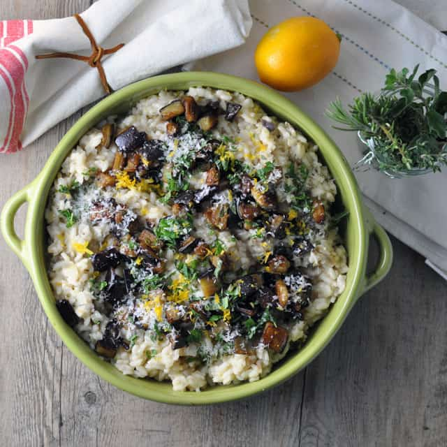 Meyer Lemon Risotto Recipe — Dishmaps