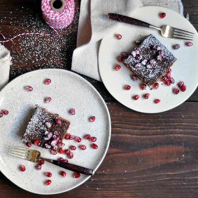 Megan Gordon's Whole Grain Gingerbread