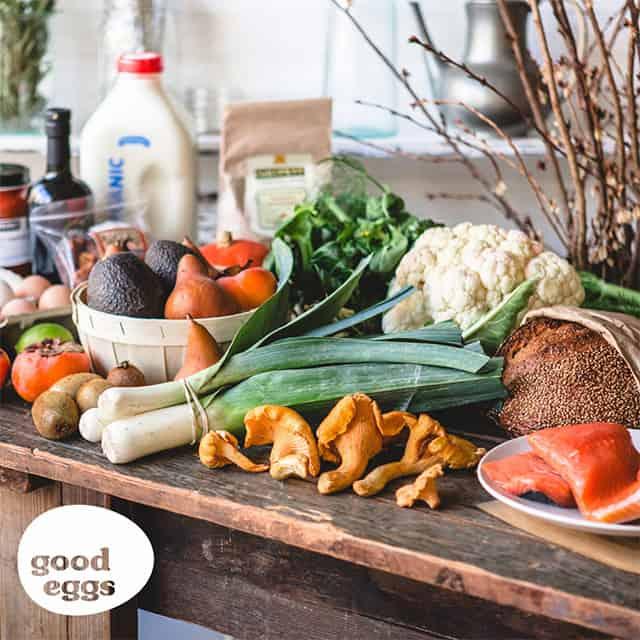 Giveaway: Win a $150 Gift Certificate to Good Eggs